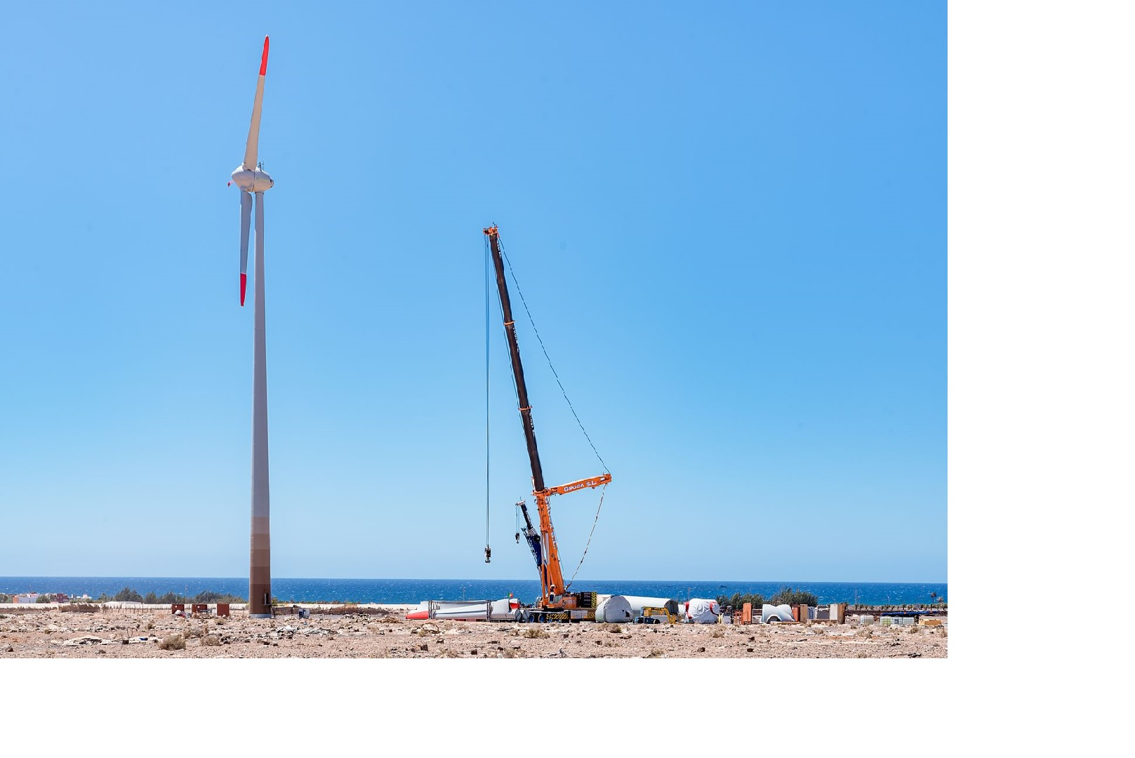 With an investment of €13million, Ecoener begins construction of two new wind farms in the Canary Islands