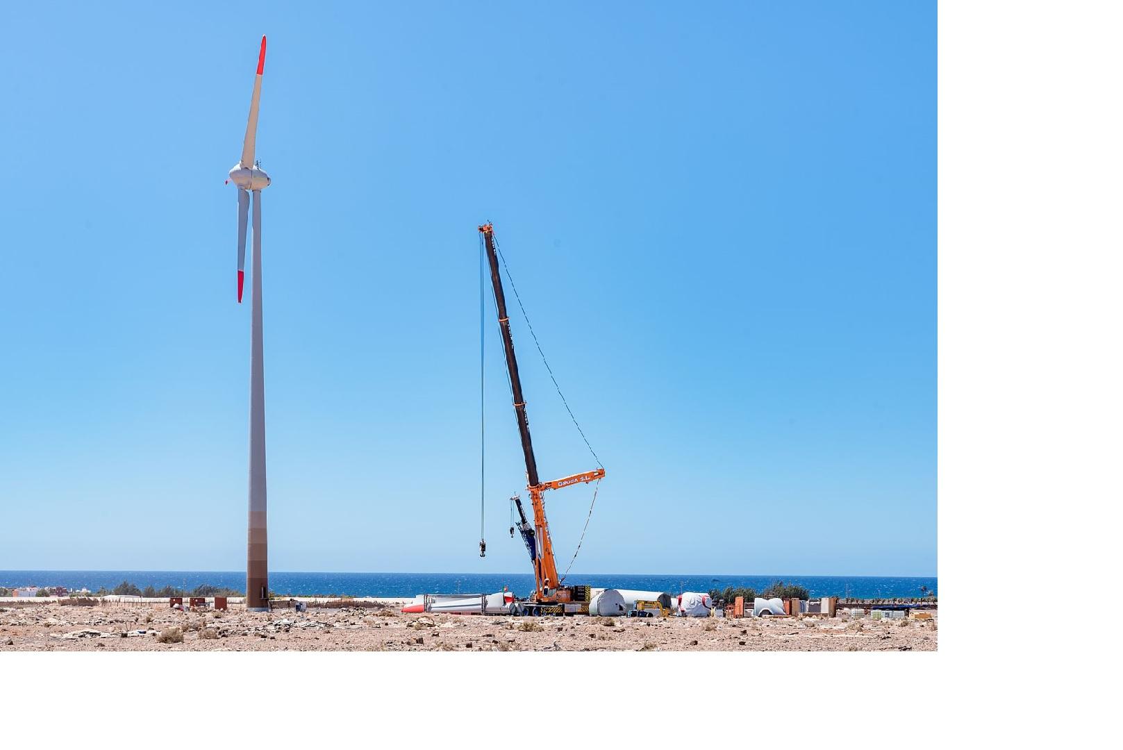 Ecoener comienza la construcción de 2 nuevos parques eólicos en Canarias