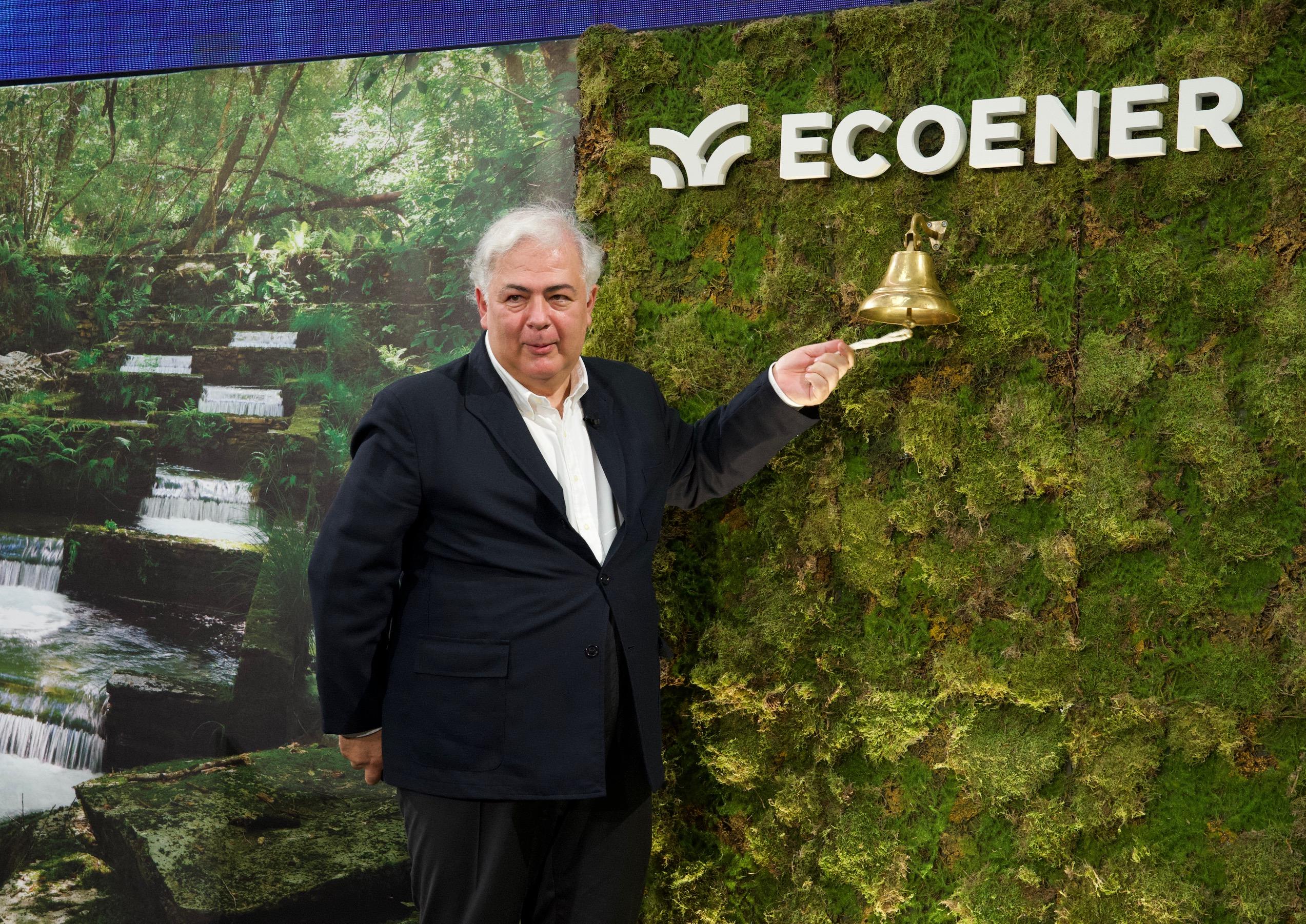 Ecoener inicia su cotización en las bolsas españolas